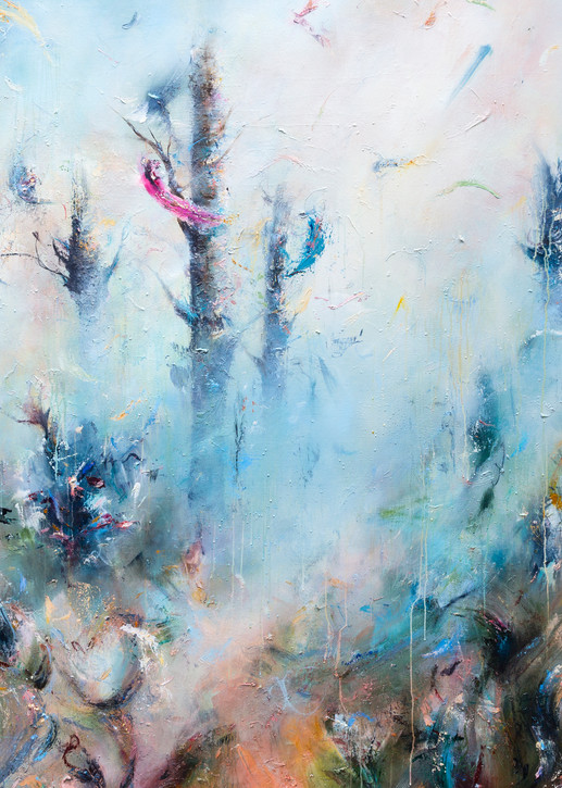 After - Contemporary Abstract Landscape Painting | Samantha Kaplan