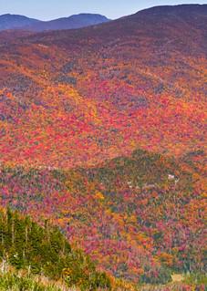 Mount Adams Fire Tower Fall Aerial Photography Art | Kurt Gardner Photogarphy Gallery