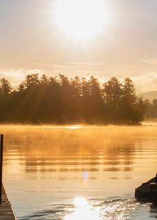 Raquette Lake General Store Panoramic Photography Art | Kurt Gardner Photogarphy Gallery