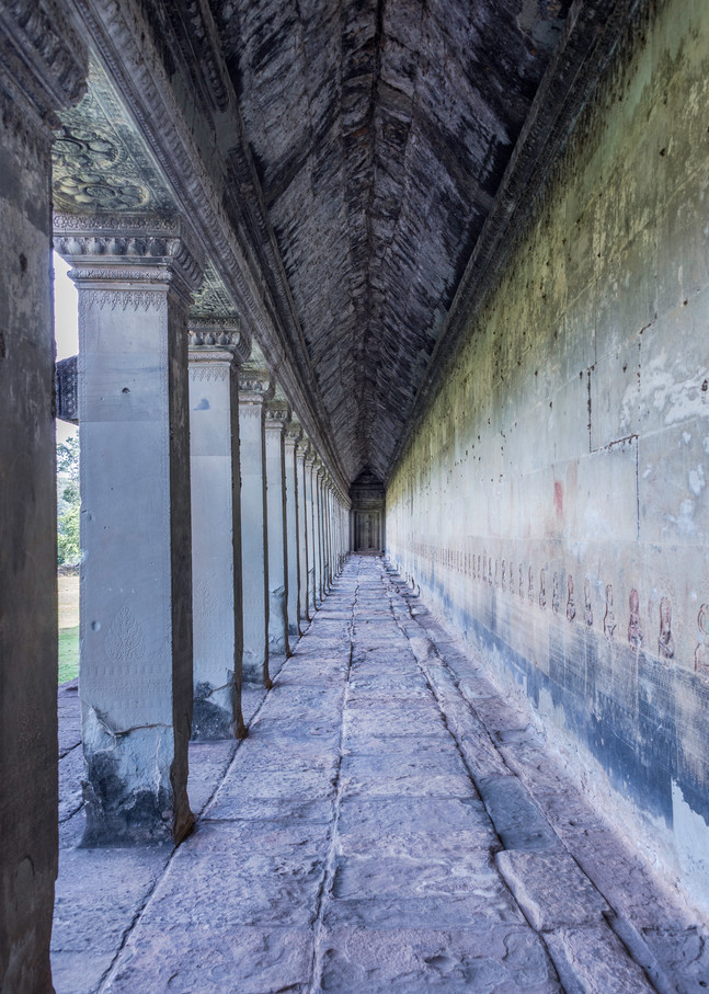 The breezeway | Angkor Wat | Susan J Photography