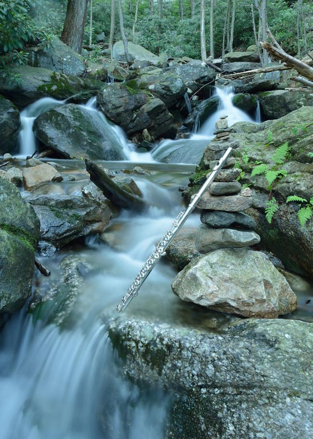 Flute And The Cairn Art   Instrumental Art