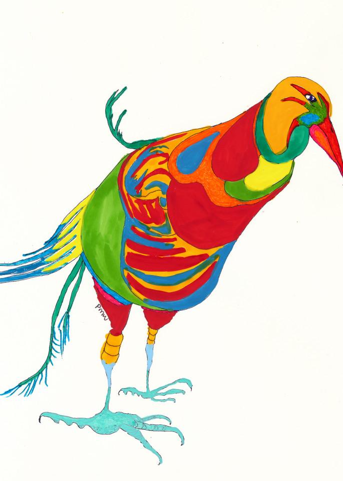 Seriousbird Art | Pam White Art