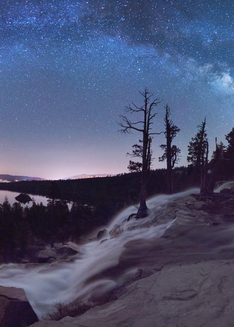 Flowing Dreams - Emerald Bay Lake Tahoe Print