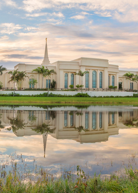 Fort Lauderdale Temple - Reflection Pond