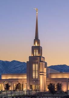 Gila Valley Temple - Twilight