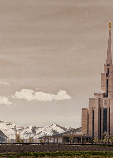 Oquirrh Mountain Temple - Top of the Mountains