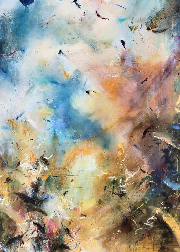 Before - Contemporary Abstract World Painting   Samantha Kaplan