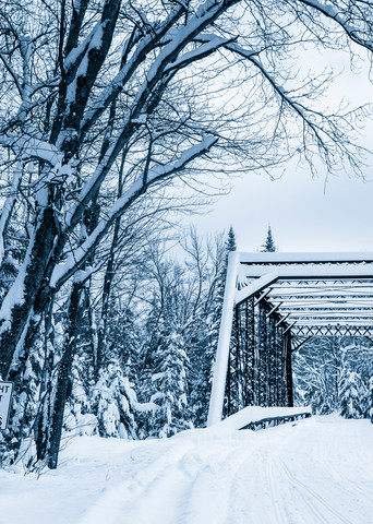 Trail 8 Bridge Photography Art | Kurt Gardner Photogarphy Gallery