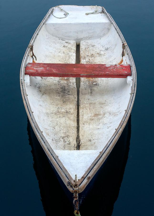 Cape Porpoise Rowboat II - Kennebunkport Maine Fine Art Nautical Photo Print
