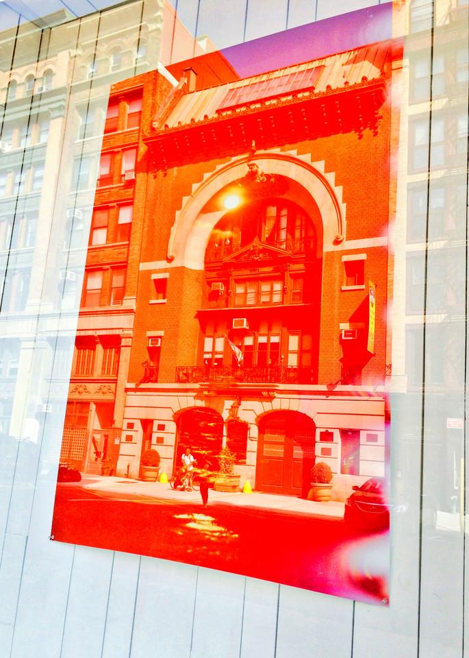 Great Jones Firehouse Manhattan. architectural photograph