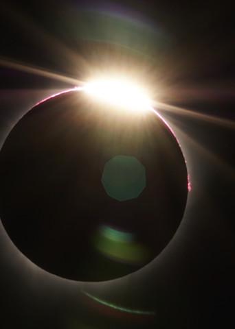 Solar Eclipse Totality by Brad Scott