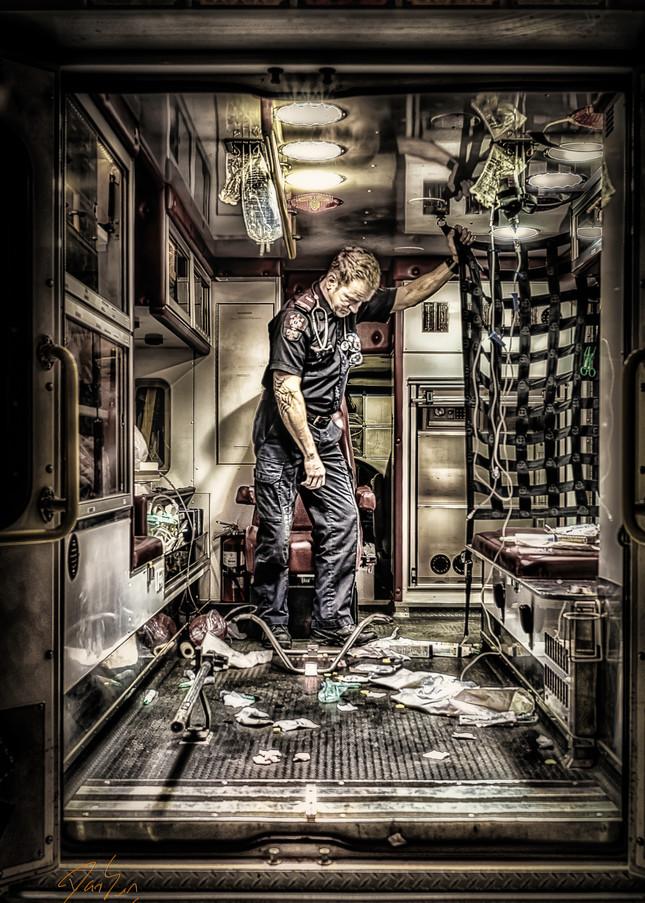 Ambulance Disaster Art   DanSun Photo Art
