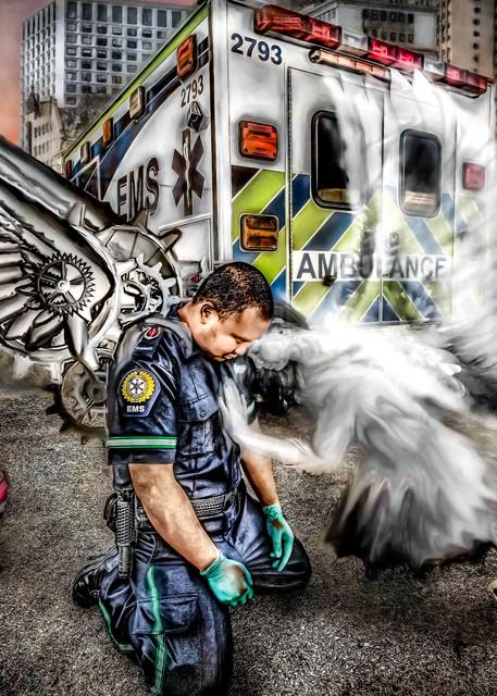 Man Made Angel Art   DanSun Photo Art