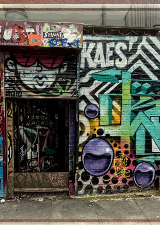 Shoreditch Graffiti  in London