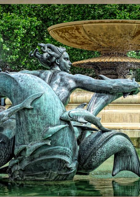 Mermaid of Trafalgar Fountain