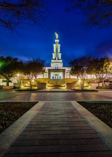 San Antonio Temple - Through the Trees