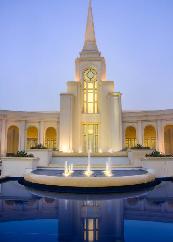Ft Lauderdale Temple - Peaceful Morning