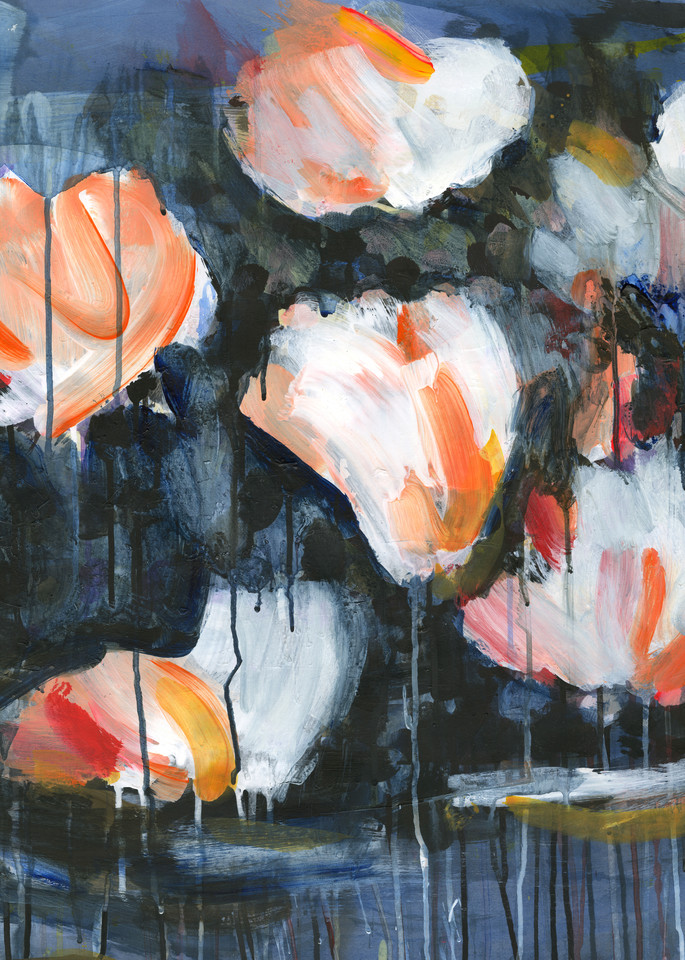 Mud & Peonies Ii  Art | Caroline Wright Art