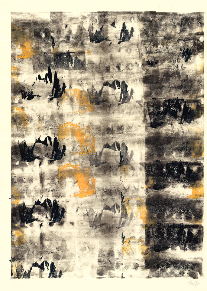 Water Lily Serial I   Paper Art | Caroline Wright Art