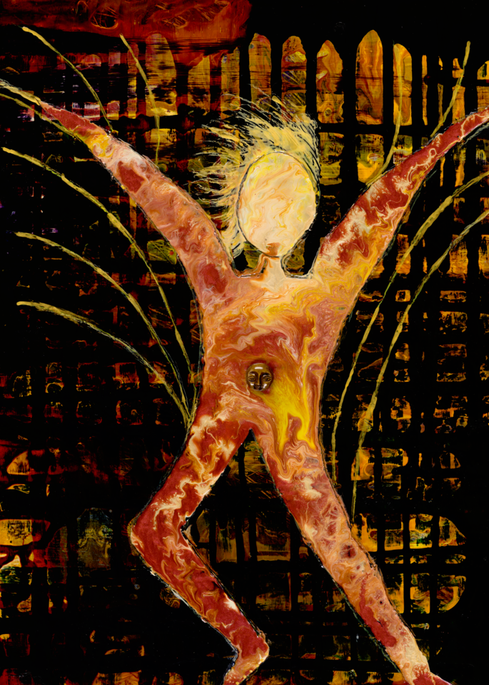 Genesis   Man Art | michelle silverman art