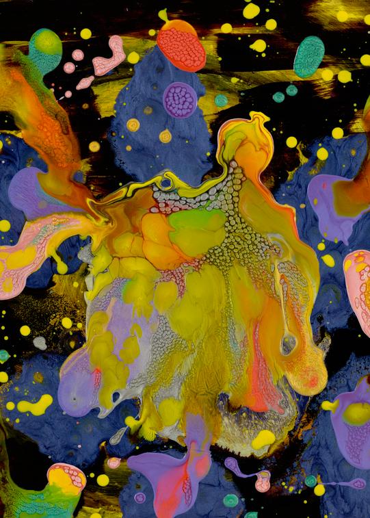 Genesis   Stars Art | michelle silverman art