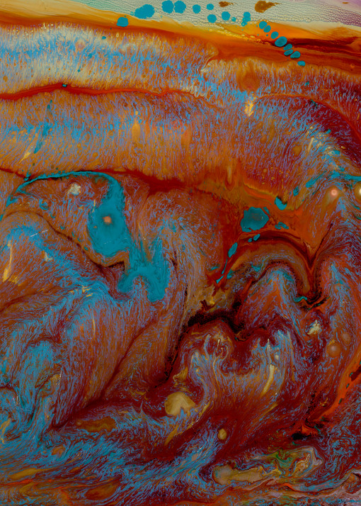 Genesis Water And Dry Land Art | michelle silverman art