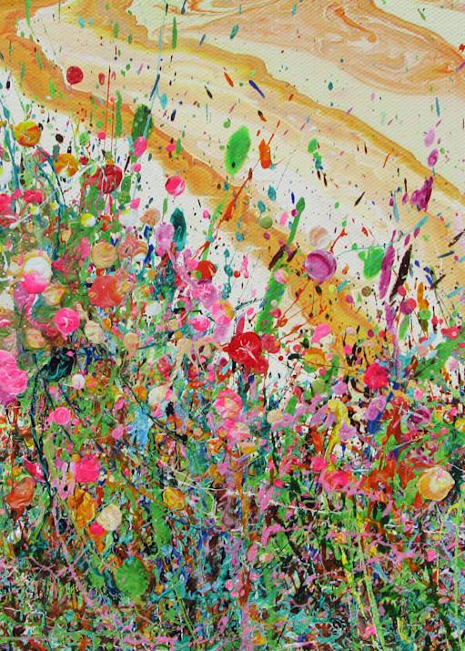 Twinkling Gilias/Abstract Wildflowers Art/En Chuen Soo