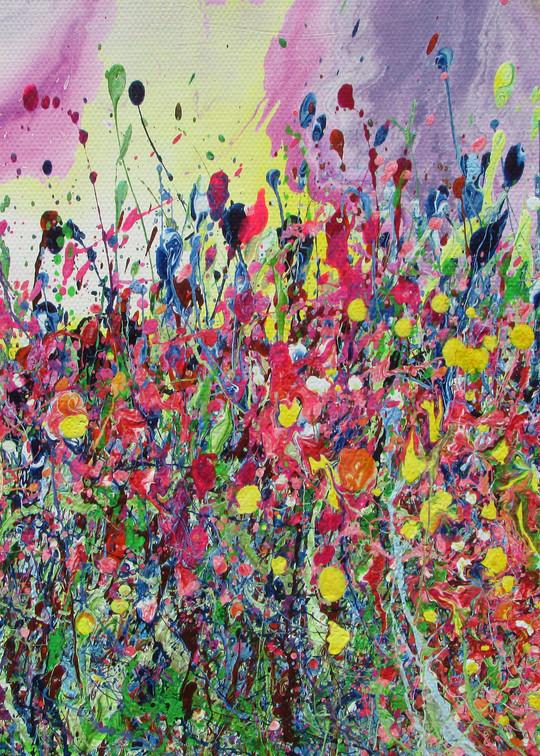 Devoted/Abstract Floral Art/En Chuen Soo