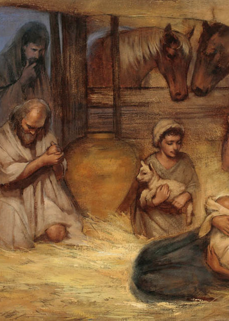 """Nativity from """"A Piece of Silver"""""""