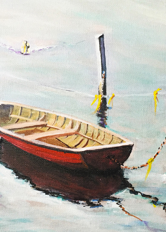 Row Boat #30 Art | Charles Wallis