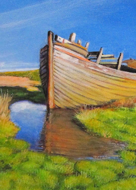 Row Boat #27 Art   Charles Wallis