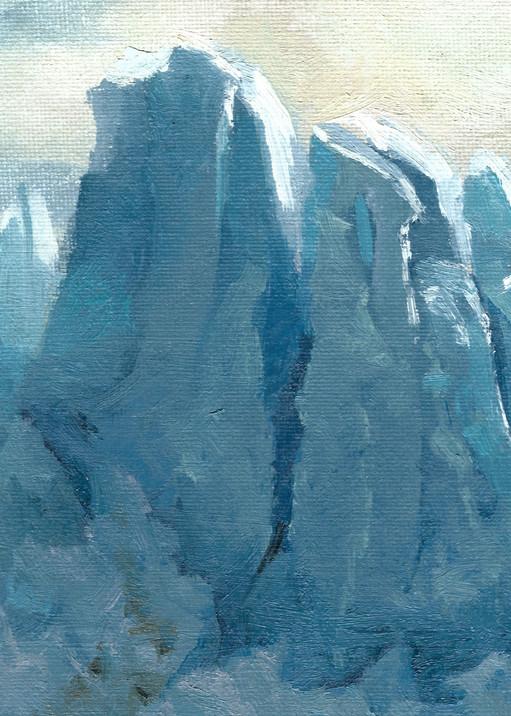 Perito Moreno   Glacier Art Print by Antrese Wood
