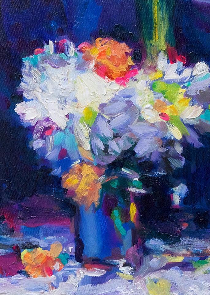 Western Painter Blue Still L Ife Charles Wallis Art   Charles Wallis