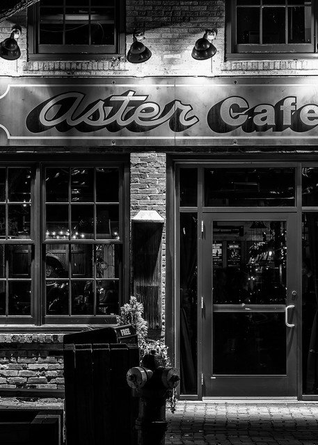 Aster Cafe - Minneapolis Art Prints | William Drew Photography