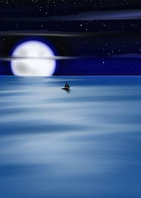 Blue Moon Art | Dave Fox Studios
