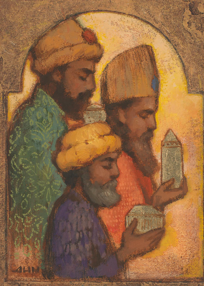Wise Men Bringing Gifts