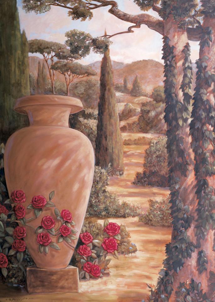 Italian Urn 1   Murals in Classical Style   Gordon Meggison IV