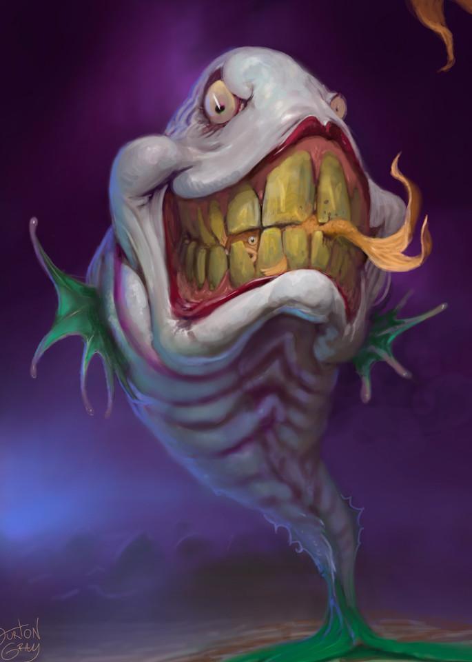 Joker Fish Art   Burton Gray