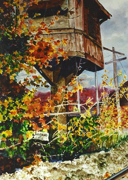 Signal Tower Art   David Beale