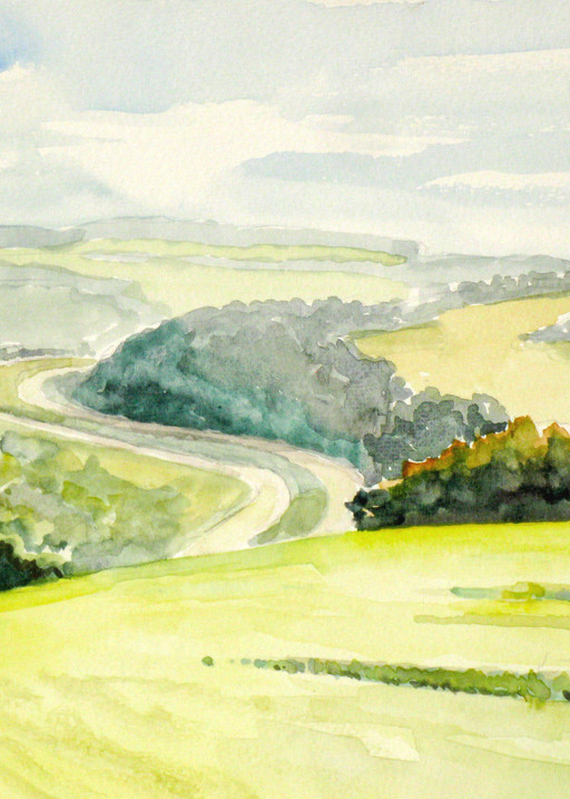 Rte 81 From Riley Road Art | David Beale