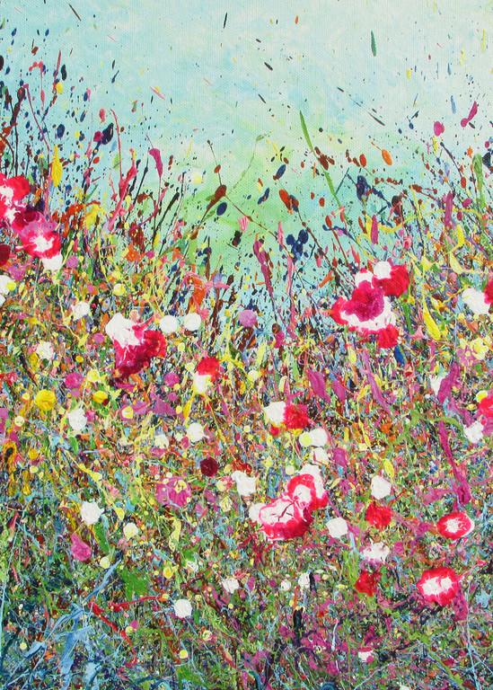 Glory/Abstract Wildflowers Art/En Chuen Soo