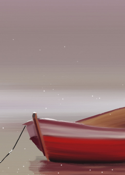 Christmas Boat Art | Dave Fox Studios
