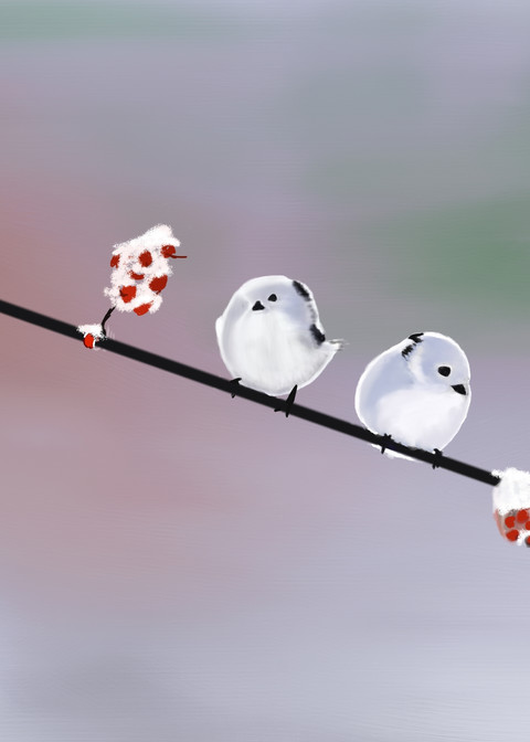 Four Birds Art | Dave Fox Studios