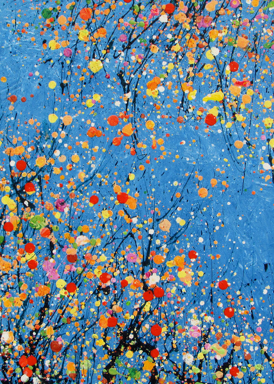 Blooming Trees/Abstract Floral Art/EnChuen Soo