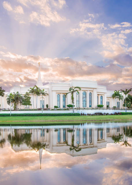Fort Lauderdale Florida Temple - Rays of Light