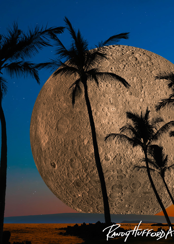 Hawaiian Super Moon