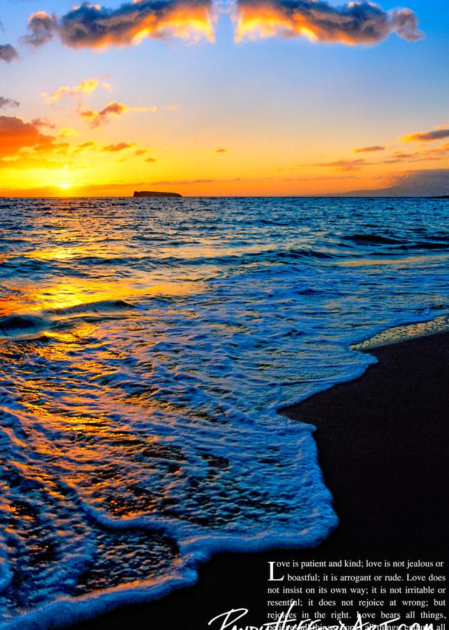 Makena Beach Foam Love Verse