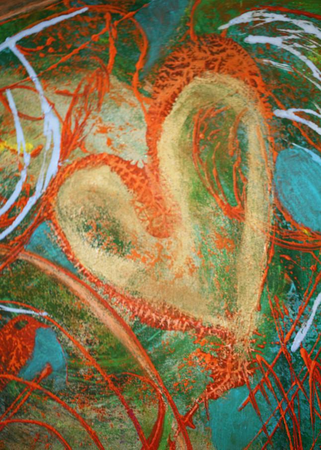 Heart 9 Art   Pam White Art