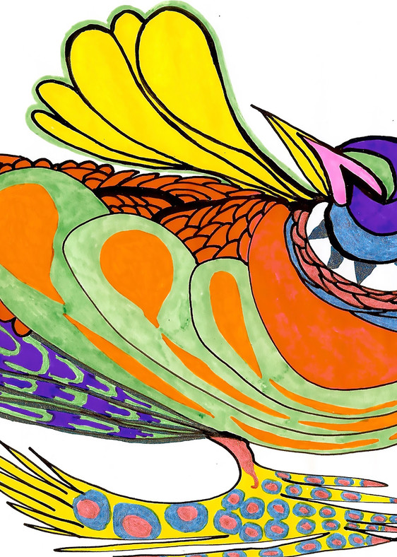 Bee Hen Art | Pam White Art