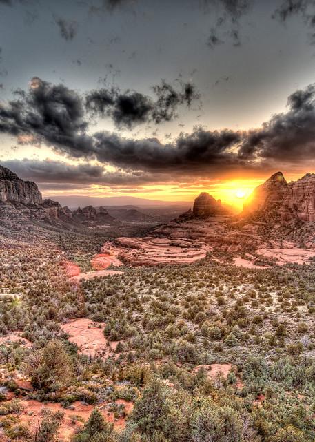 Sedona Sunset Photography Art | Craig Edwards Fine Art Images